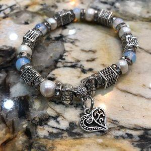 Jewelry - Opal and fresh water pearl bracelet
